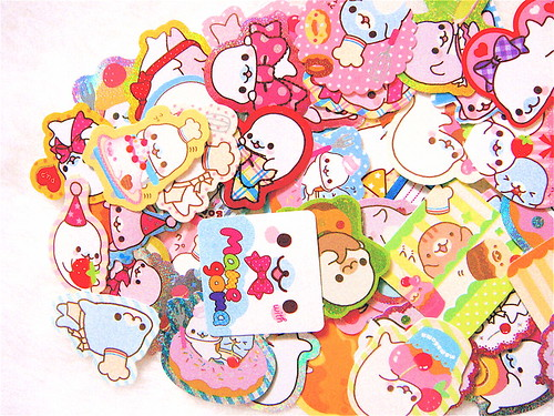 Mamegoma Sticker Flakes