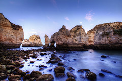 Ponta da Piedade. Blue hour. Algarve. Portugal