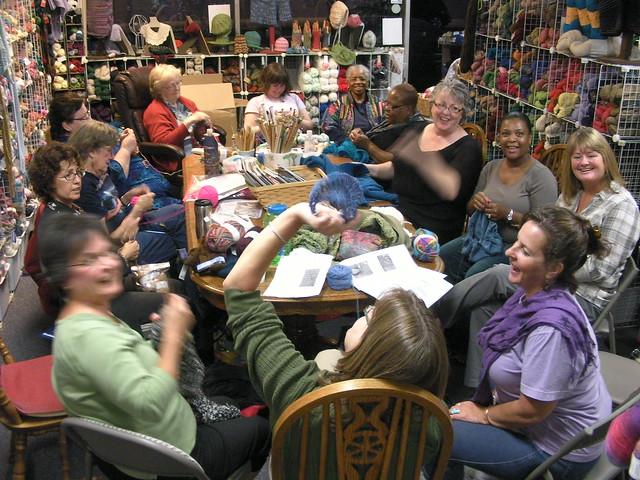 Knitting Groups Near Me : The alameda yarn shop thursday night knitting group
