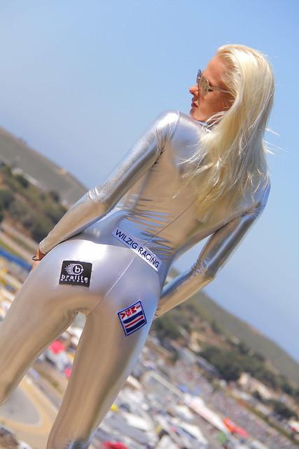 ALMS Grid Girl sexy Beautiful Hot American Le Mans IMSA ...