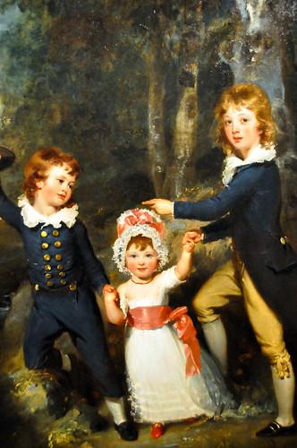 Thomas Lawrence - Bildnis der Kinder des Lord George Cavendish at the Städel Art Museum Frankfurt Germany