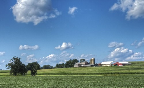clouds rural farms tonemapped ruralohio columbianacounty ohiofarms ohiolandscapes