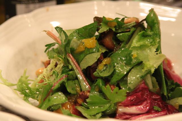 course 2: salad