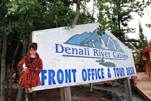 Sarah Visits Denali River Cabins