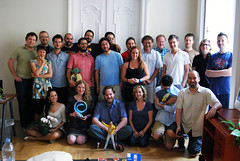 Gawker / Blogwire Budapest Group Photo, August 2011