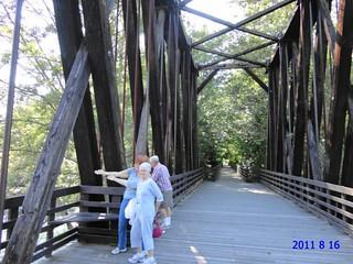 Dungeness River Railroad Bridge Park Washington