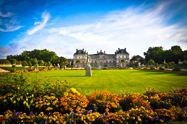 luxembourg palace and gardens paris france flickr photo sharing. Black Bedroom Furniture Sets. Home Design Ideas