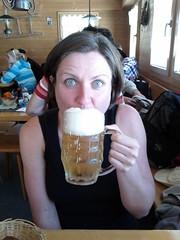 drinking, face, skin, head, hair, beer,