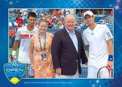 2011 W&S Open Coin Toss Winner Djokovic vs Murray 8-21