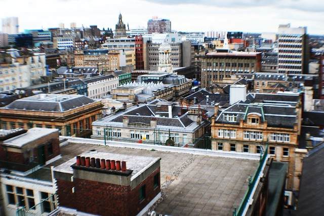 Rooftop Panorama, Glasgow
