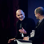 Grant Morrison talking to Alan Morrison 2 |