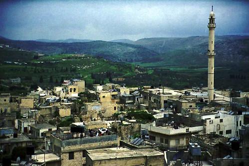 2003 landscape israel village palestine westbank mosque israelpalestine palestineisrael silteldaher