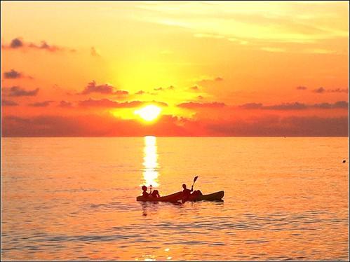 mare tramonti paola calabria