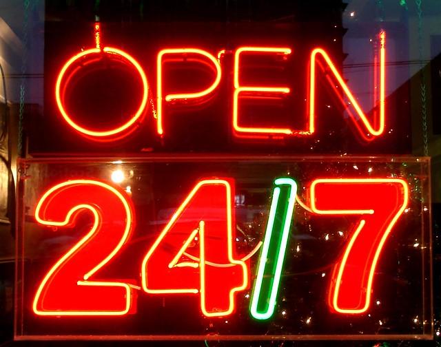 OPEN 24/7 | Flickr - Photo Sharing!