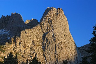 Morning light on  Pingora Peak, Cirque of the Towers, Wind River Range, Wyoming