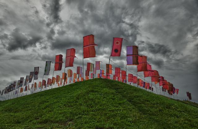 Mysteryland vlaggen