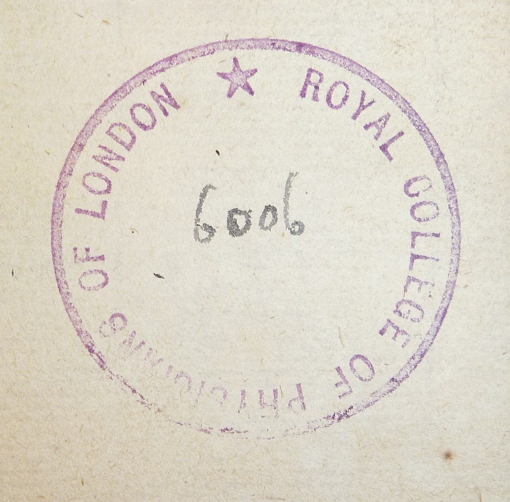 Of The Library Stamp With Ms Shelf Mark