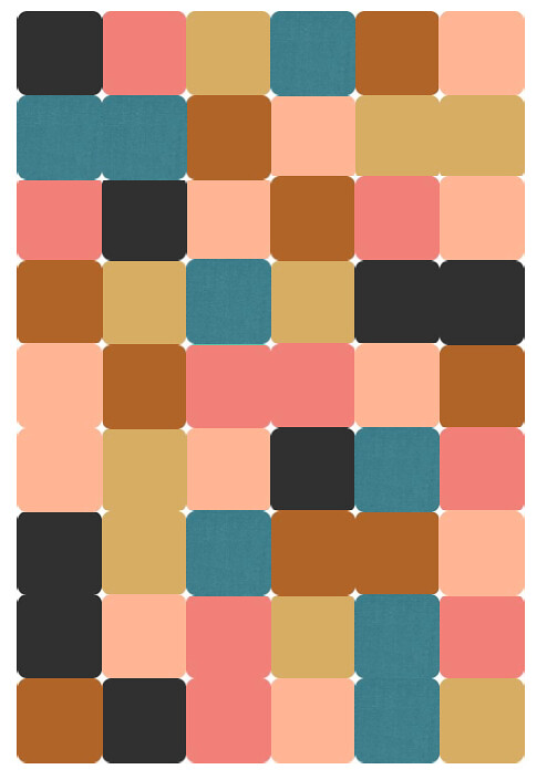 Flora Palette for Dead Simple QAL