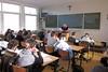 Patrick Lateur in de klas