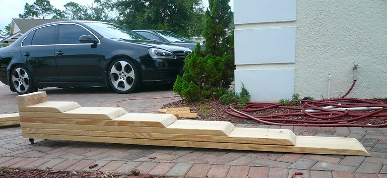 Diy Car Ramps : Homemade car ramps plans how to build