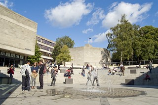 The Square on UEA's Campus
