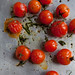 Roasted Cherry Tomatoes with Olive Oil and Basil