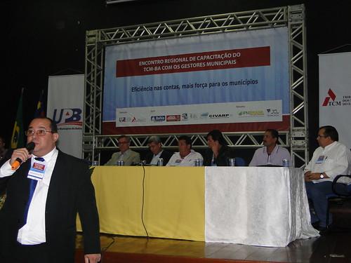 ENCONTRO REGIONAL DE CAPACITAÇÃO TCM-BA EM VITÓRIA DA CONQUISTA