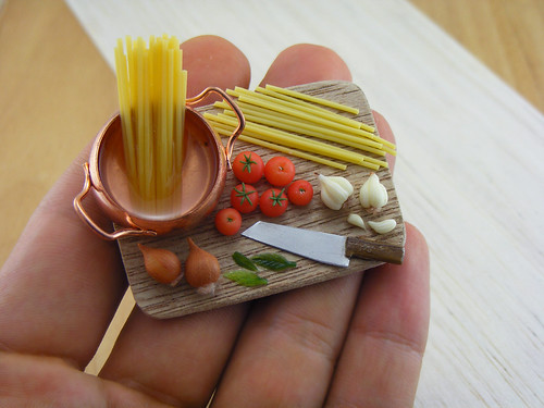Spaghetti Preparation Board