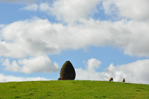scotland sheep cairn goldsworthy andygoldsworthy penpont milleniumcairn