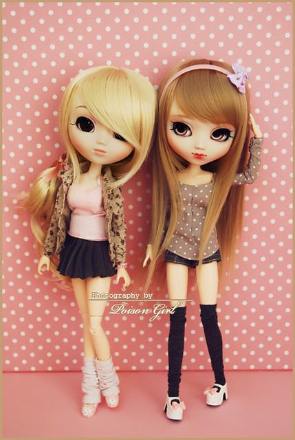 Miso & Hanabi - Pullip Hello Kitty & Custom