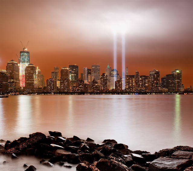 Tribute in Light 2011: The Tenth Anniversary of 9/11