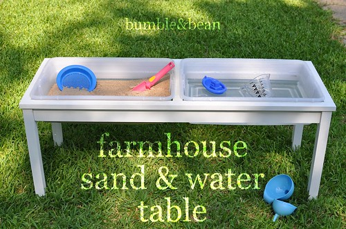 Superior DIY Farmhouse Sand And Water Table