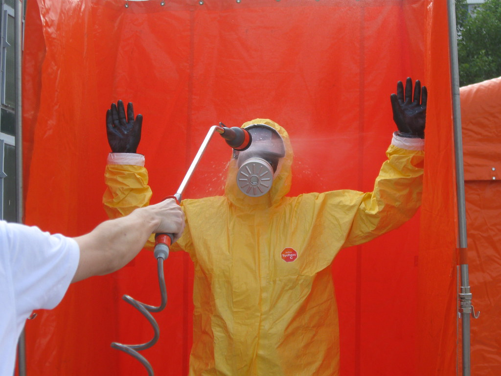 hands up! this is a decon!