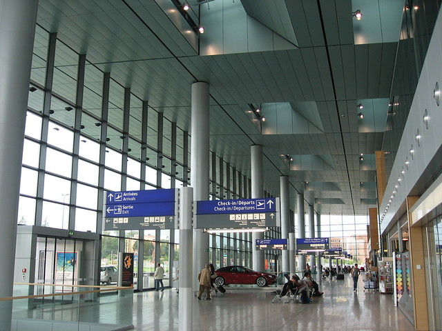 luxembourg airport findel terminal flickr   photo sharing