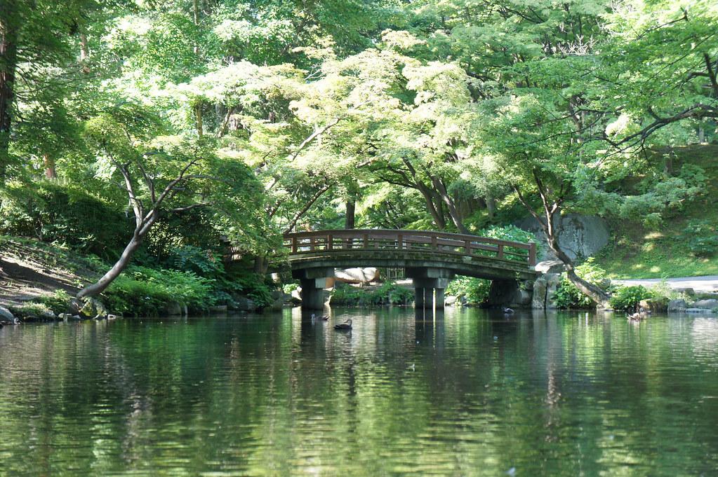 Site of Morioka castle park