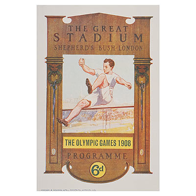 London 1908 Olympic poster