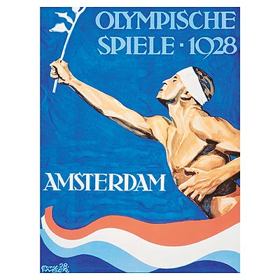 Amsterdam 1928 Olympic poster