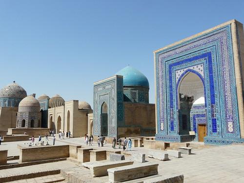 Los reflejos azules de samarkanda ii for Samarkanda el tenedor