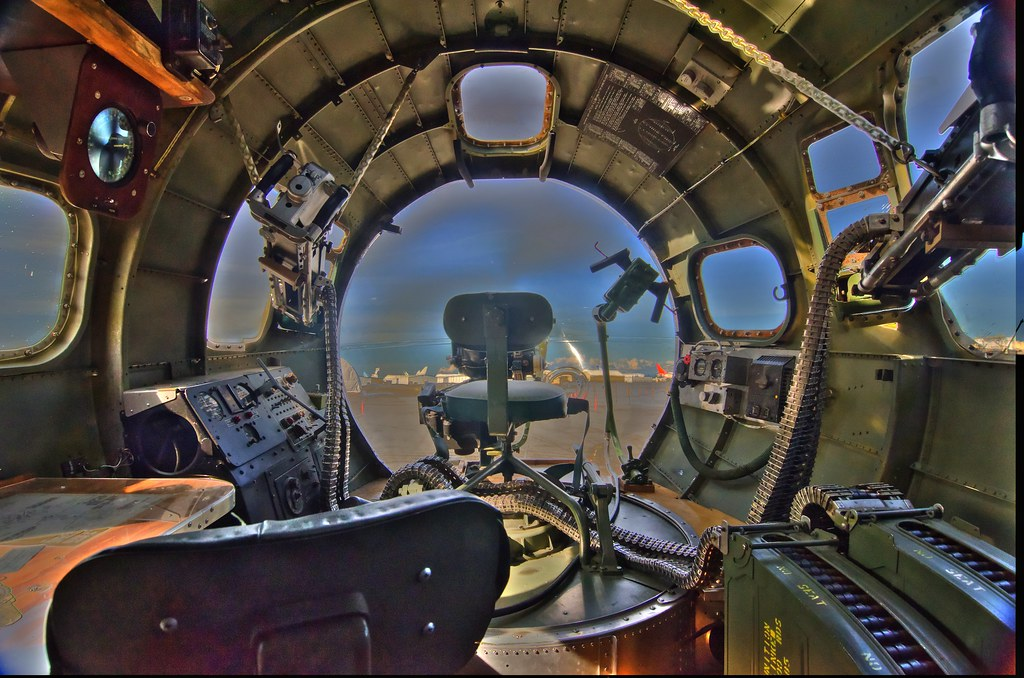 B-17 Sentimental Journey front gunner