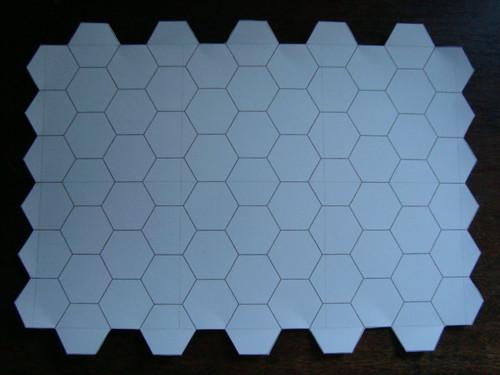 Hexagon Sheet Uncut
