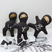 Ninja pocket dolls