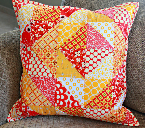 Red & Gold pillow