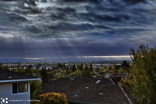 HDR: Sunrise in Suburbia V1