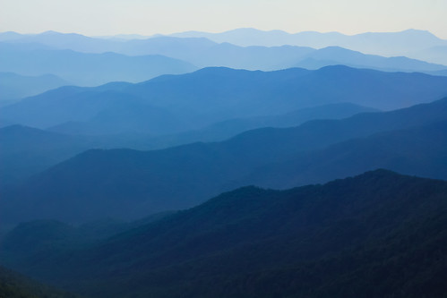 Upon the Blue Ridge Mtns.