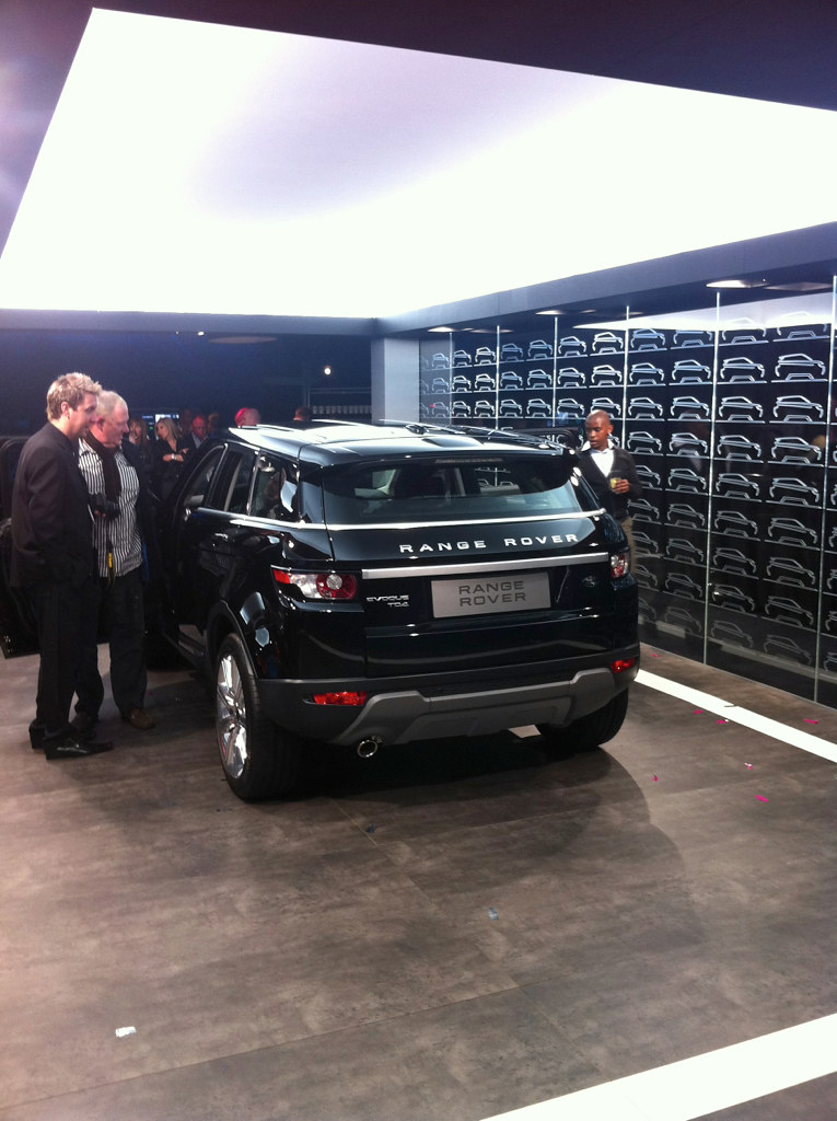 land rover range rover evoque  2011   sujet officiel