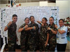 Supporters of the Cancer Declaration Signature Campaign (Philippines)