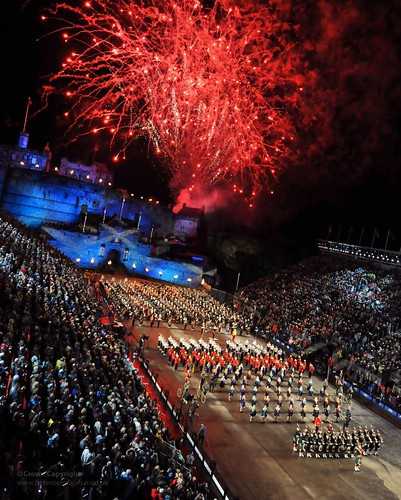 Fireworks Over the 2011 Royal Edinburgh Military Tattoo