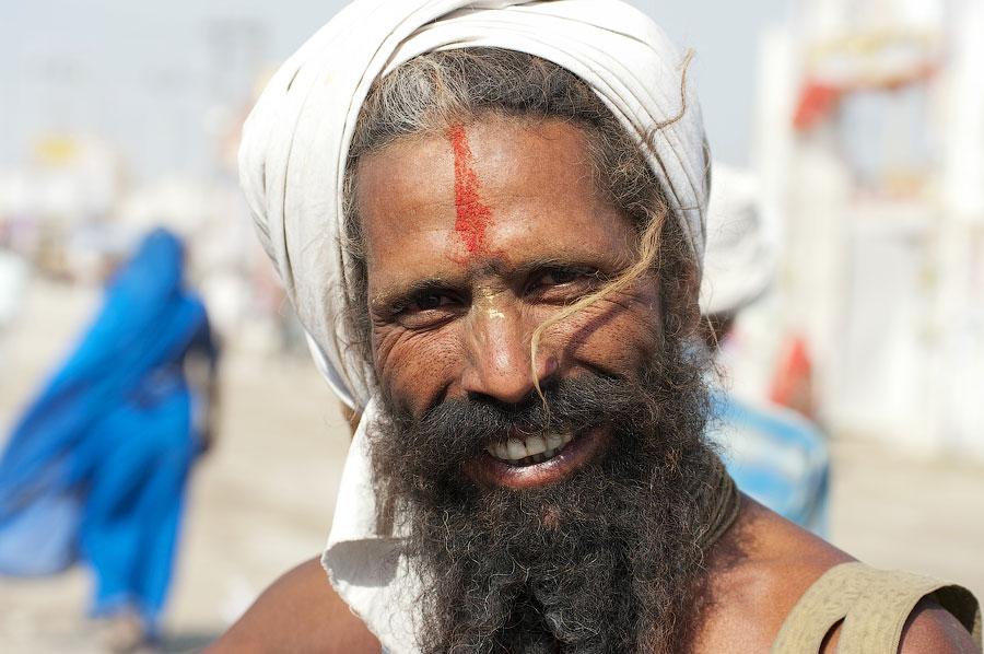 садху Нага-баба , Кумбхамела 2010 © Kartzon Dream - авторские путешествия, авторские туры в Индию, тревел фото, тревел видео, фототуры
