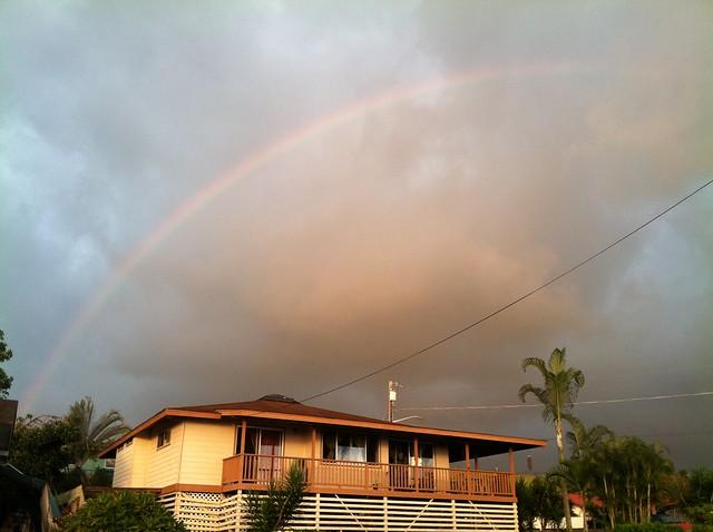 Homes Over Kona Beach