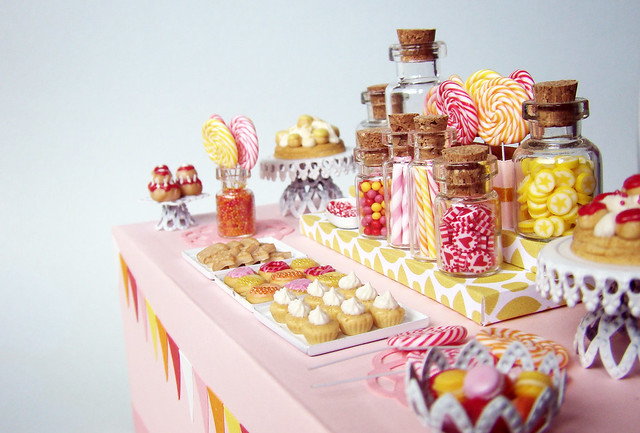 Miniature Candy Dessert Table Flickr Photo Sharing
